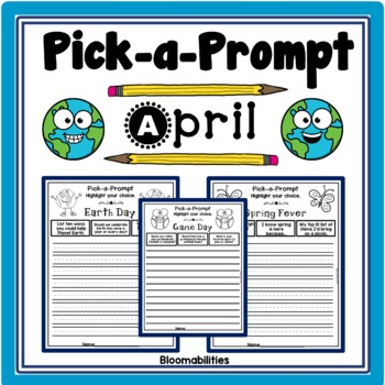 Pick-a-Prompt (April Writing Prompts)