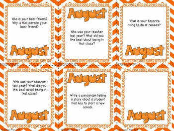 Pick A Prompt (August): Common Core Types of Writing for 3rd Grade