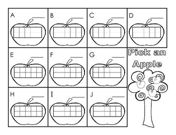 Pick An Apple - Counting Game