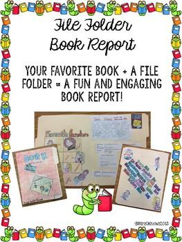File Folder Book Report