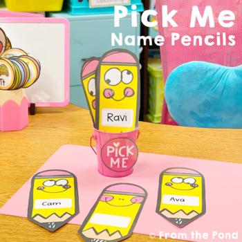 Pick Me Pencils - Classroom Management Names