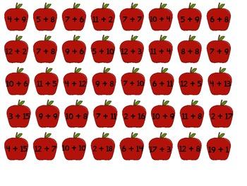"Pick Me ""Sum"" Apples: A Math Fact Game"