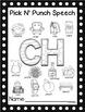 Pick N' Punch Speech Targets {low prep black & white print