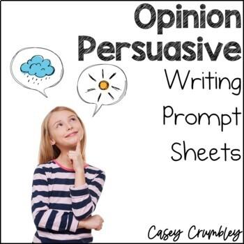Pick One Opinion Writing Sheets