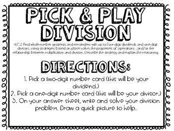 Pick & Play Division