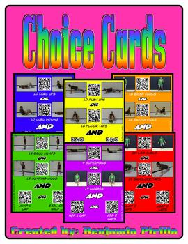 Fitness Choice Cards