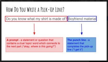 Pick-Up Lines/ Embedding Quotes