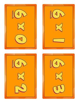 Pick-Up Multiplication Game