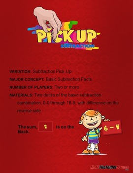 Pick-Up Subtraction Game
