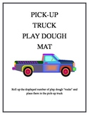 Pick Up Truck Play Dough Mat