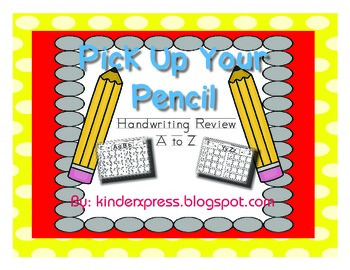 Pick Up Your Pencil