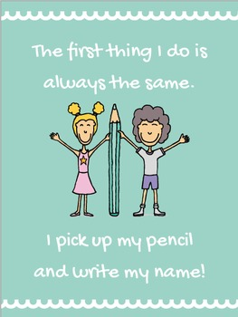 Pick Up Your Pencil Poster