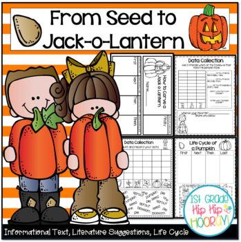 Pumpkin Life Cycle...Informational Text, Writing, Craft!