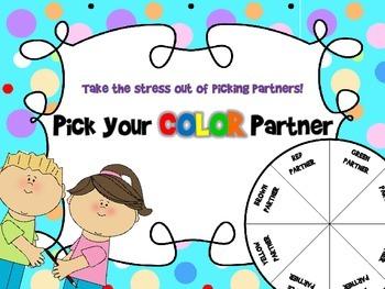 Pick Your Color Partner