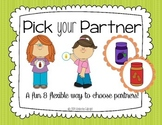 Pick Your Partner Cards
