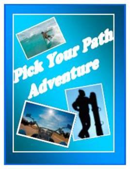 Pick Your Path Adventure Stories