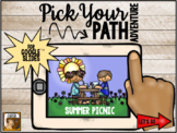 Pick Your Path Adventure:  Summer Picnic (for Google Slides)