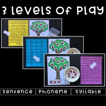 Phonemic Awareness Fun - Orchard Sounds