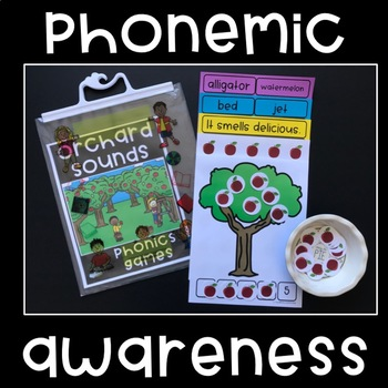 Phonemic Awareness Fun - Orchard Sounds