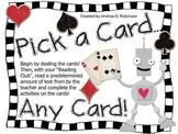 Pick a Card, Any Card!