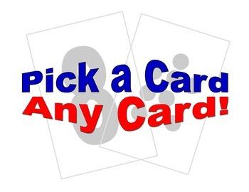Pick a Card!  Any Card!