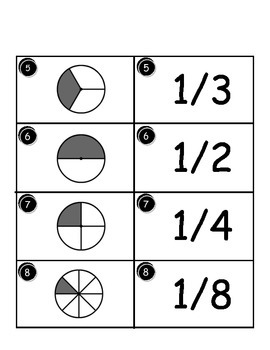 Pick a Card - Fractions