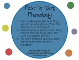 Pick-a-Dot Phonology: Activity for Gliding and Final Consonant Deletion