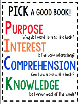 Pick a Good Book Poster