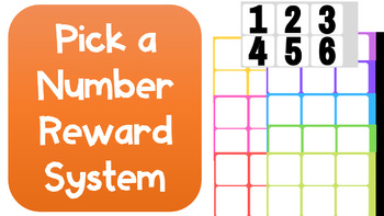 Pick a Number Reward System