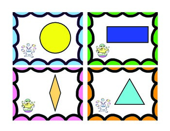 Pick a Pair! 2D and 3D shapes