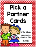 Pick a Partner Cards