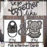 Pick a Partner Colors for Student Grouping