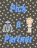 Pick a Partner Galaxy Cards