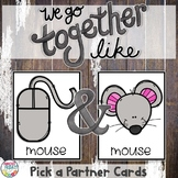 Pick a Partner Homonym Cards for Student Grouping