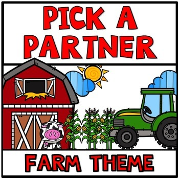 Pick a Partner Student Groups BUNDLE