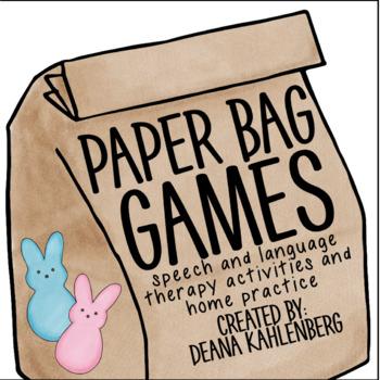 Paper Bag Games: Pick a Peep!