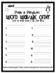 Pick a Penguin Word Wall ABC Order