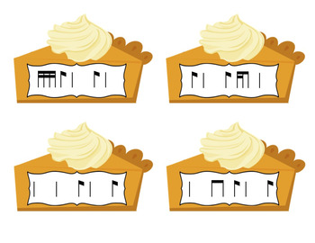 Pick a Piece of Pie Rhythm Game: Bundled Set