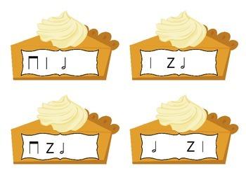 Pick a Piece of Pie Rhythm Game: half note