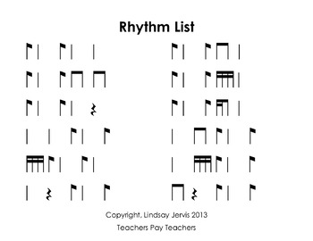 Pick a Piece of Pie Rhythm Game: syncopa