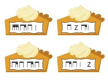 Pick a Piece of Pie Rhythm Game: ti-tiri