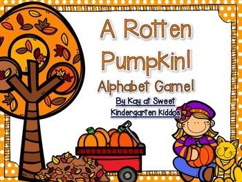 A Rotten Pumpkin! Alphabet Game