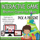 Interactive Rhythm Game - Pick a Present Christmas and Winter Holiday-theme