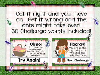 Interactive PDF - Picnic Panic Camping and Outdoor-themed Rhythm Game