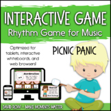 Interactive Rhythm Game - Picnic Panic Camping and Outdoor