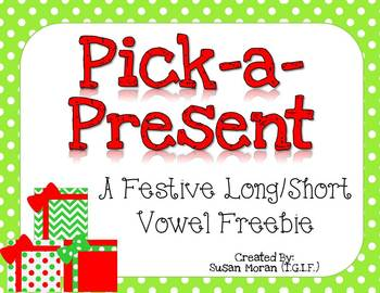 Pick-a-Present {Long/short vowel freebie}