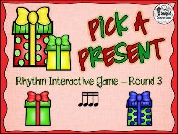 Pick a Present - Round 3 (Tika-Tika)