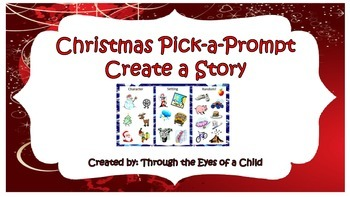 Pick a Prompt - Create a Story - Christmas Themed