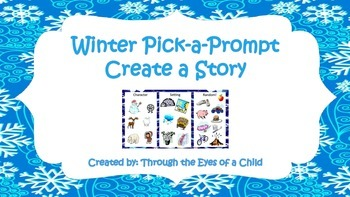 Pick a Prompt - Create a Story - Winter Themed