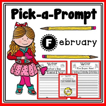 Pick-a-Prompt (February Writing Prompts)